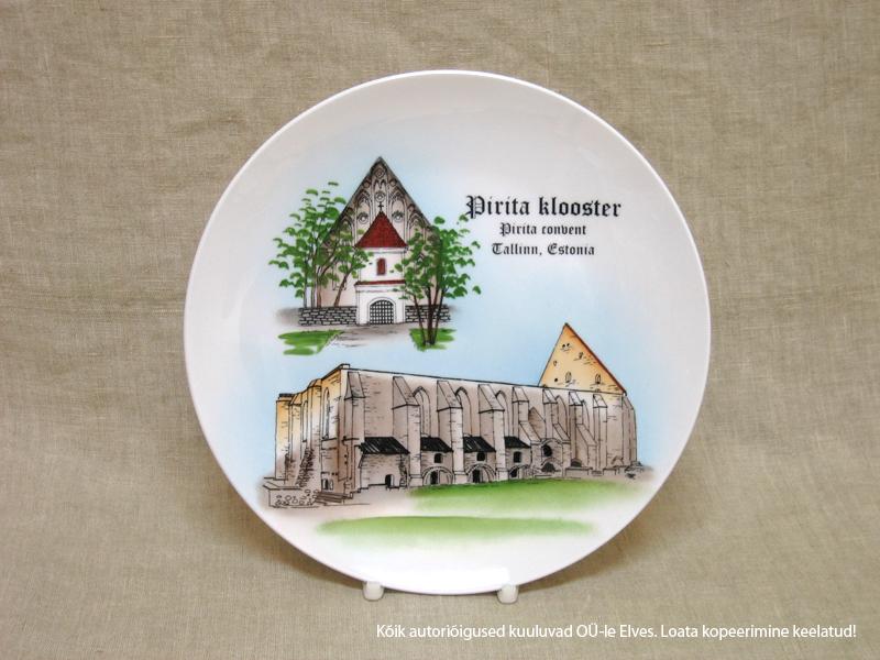 Seinataldrik d-20cm PIRITA KLOOSTER