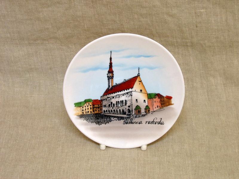 Seinataldrik d-15 cm TALLINNA RAEKODA